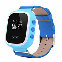 Смарт часы с GPS Smart Baby Watch q60S голубые