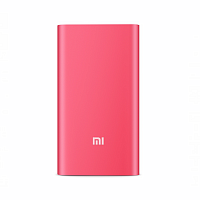 Power Bank Xiaomi Mi Slim 5000 mAh розовый