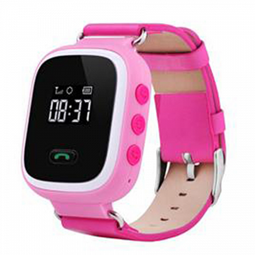 Смарт часы с GPS Smart Baby Watch q60S розовые